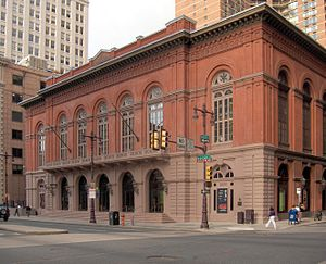 National Register of Historic Places listings in Center City, Philadelphia - Image: Phila Academyof Musicl 03