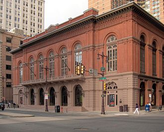 Music of Philadelphia - Philadelphia's Academy of Music. Located at Broad and Locust Streets, it is the city's oldest performance venue, presenting operas and concerts annually since 1857.