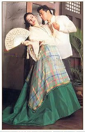Philippine dance - Cariñosa