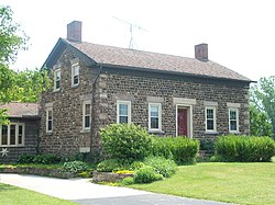 Philo Newton Cobblestone House Jun 09.JPG