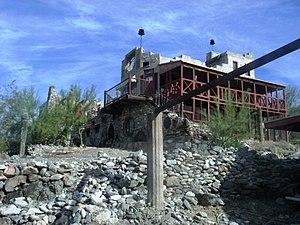 Mystery Castle - Image: Phoenix Mystery Castle 2
