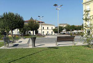 "Atripalda - The central ""Piazza Umberto I"""