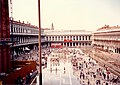 Piazza San Marco Venice with standing water September 1993.jpg