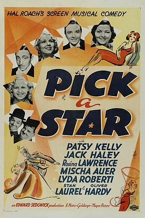 Description de l'image Pick A Star poster.jpg.