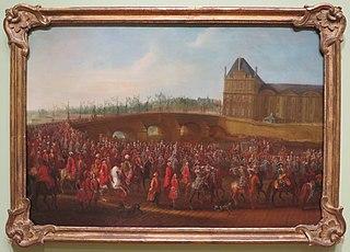 The Ceremonial Procession of Mehemet Effendi, Ambassador from the Ottoman Empire