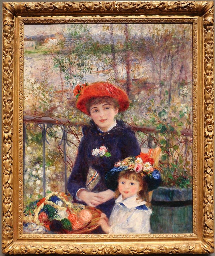 File:Pierre-auguste renoir, due sorelle (sulla terrazza), 1881.jpg ...