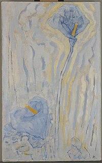 Piet Mondriaan - Two arum lilies - 0334322 - Kunstmuseum Den Haag.jpg
