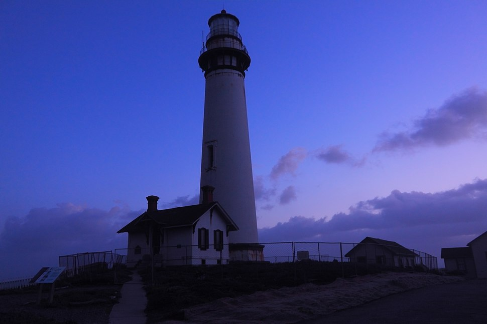 Pigeon Point Lighthouse at Blue hour by Sutanu Mandal