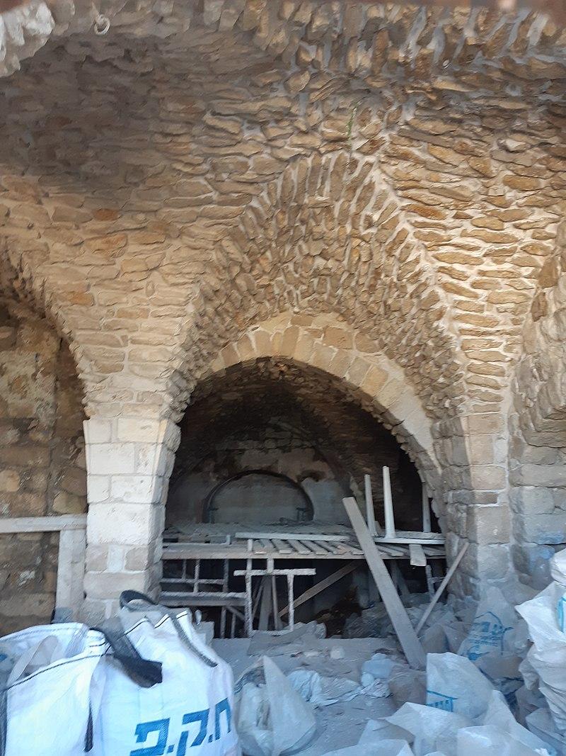 בית עתיק ברובע היהודי בצפת