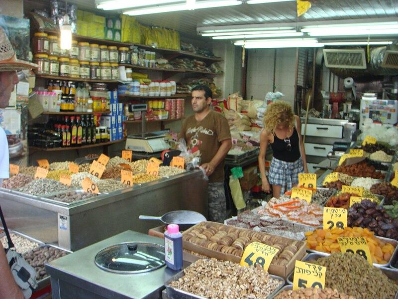 תבלינים בשוק לוינסקי בתל אביב