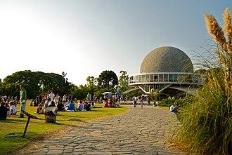Galileo Galilei planetarium - Image: Pillow Fight Buenos Aires
