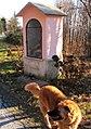 Pilone votivo peregrinatio mariae località mojen 01.jpg