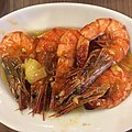 Pininyahang hipon (shrimp in a pineapple and coconut milk sauce) - Philippines.jpg