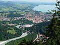 Pinswang - Dreiländereck - Füssen, Forggensee 02.jpg