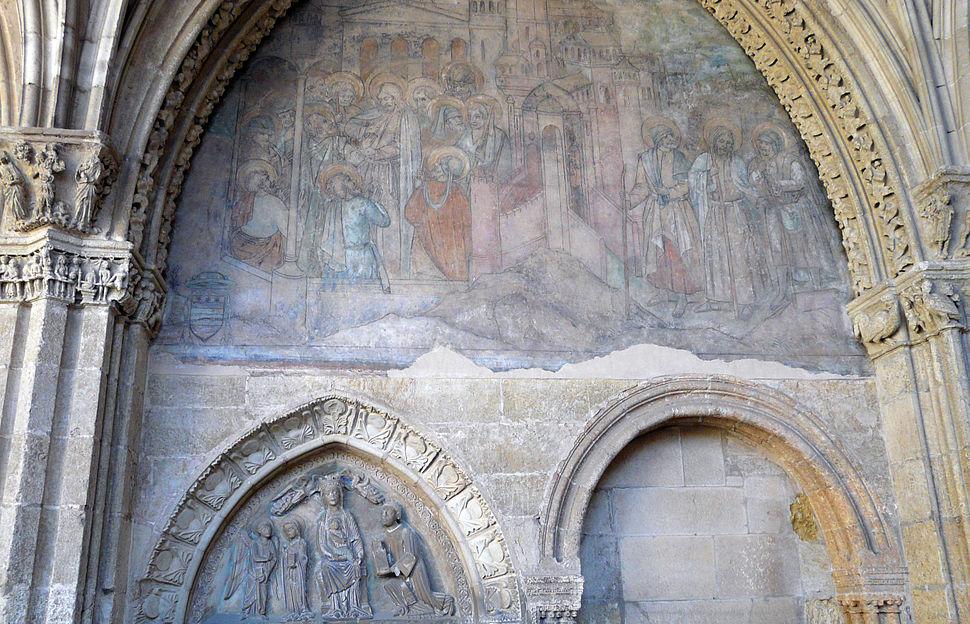Pinturas de Nicolás Francés, catedral de León