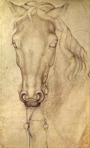 Pisanello vita e opere for Cavallo disegno a matita