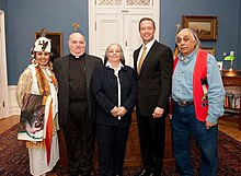 Piscataway Indian Nation and The Piscataway Conoy Tribe Officially Recognized Maryland By Governor Martin O'Malley And State Of Maryland In Annapolis On January 9, 2012 Flickr.jpg