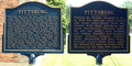 Pittsburg Indiana marker.png