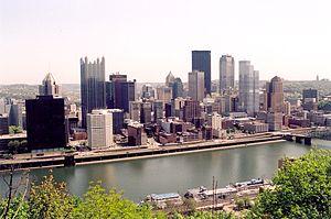 Pittsburgh, Pa., USA - voorjaar 2001
