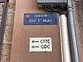 Plaque Jardin 1er Mai - Mâcon (FR71) - 2020-12-22 - 1.jpg