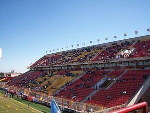 Estadio Centenario (Resistencia) - Image: Platea alta y baja del Estadio Centenario