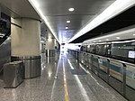 Platform of Pudong International Airport Station (Shanghai Maglev) 2.jpg