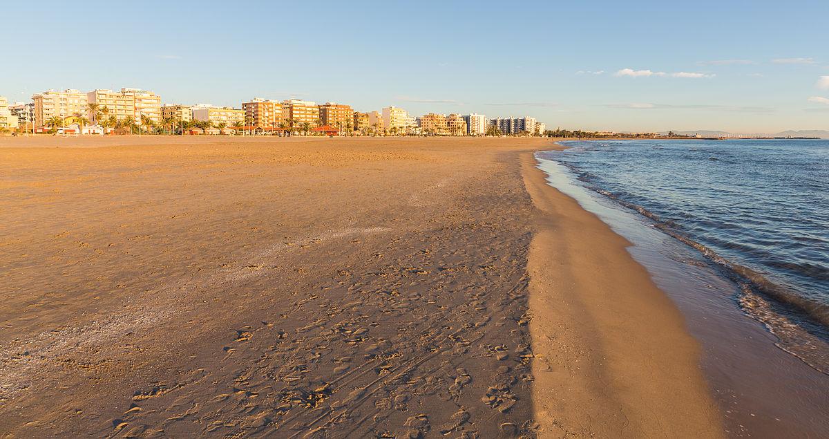 Playa del puerto de sagunto wikipedia la enciclopedia libre - Tanatorio puerto de sagunto ...