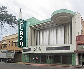 Laredo, Texas - Though the facility has been closed since 1999, the marquee of the Plaza Theater in downtown Laredo has been renovated A citizens committee, including the restaurateur Danny Lopez, Jr., of the Danny's Restaurant chain, sought without success to establish a private-public partnership to reopen the Plaza as a live entertainment venue. In 2018, the city council sought private entities, non-profit organizations, and an architect to make the facility useful again.