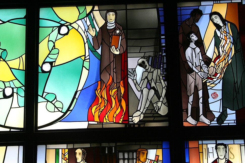 Plum Edith Stein und Maximilian Kolbe