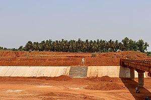 Polavaram canal under construction near Eluru (May 2019) 1.jpg