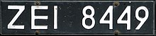 Polish license plate 1976-2000 (front).jpg