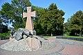Poltava-2017 Panyanskiy Blvrd. Monument to Ukrainian Kozaks (YDS 6310).jpg