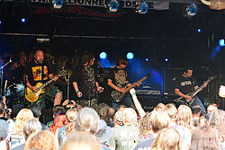 Poltergeist beim Headbangers Open Air 2014