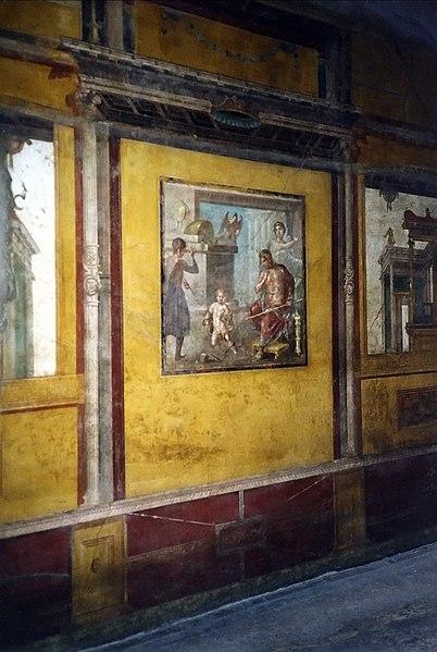 Fichier:Pompeji Casa Dei Vettii Hercules Child.jpg