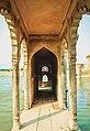 Pond in the Chhatris of Barsana.jpg