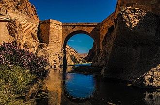 El Kantara - Image: Pont Romain El Kantara (Biskra)