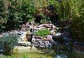 Pont i cascada, parc de Benicalap.JPG