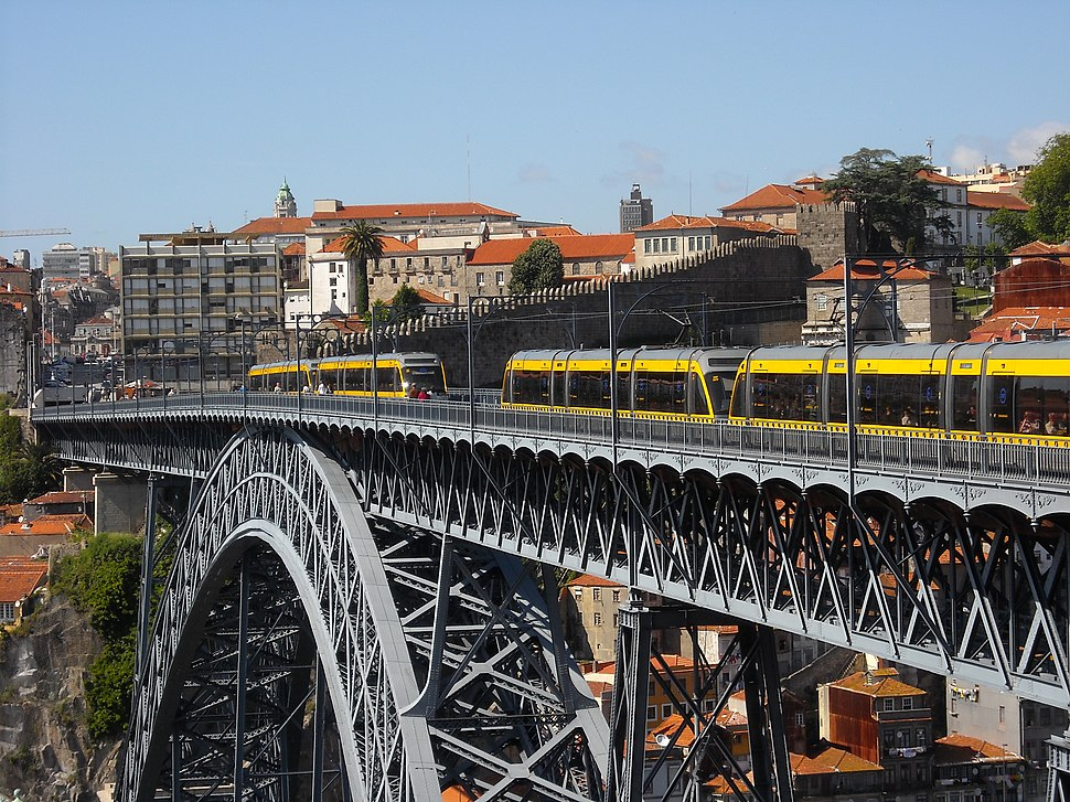 Ponte D. Luís I e metro (3)