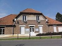 Pontru (Aisne) mairie.JPG
