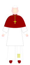 Pope - choir dress.svg