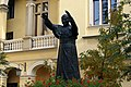 Pope John Paul II monument,Krakow Archbishop's Palace courtyard, 3 Franciszkanska street,Old Town, Krakow, Poland.jpg