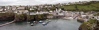 Port Isaac - Port Isaac viewed from the west