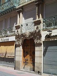 Portada edificio calle Prudencio 25 (Zaragoza).jpg