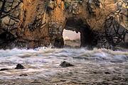 Portal of the Sun, Pfeiffer Beach, Big Sur, California