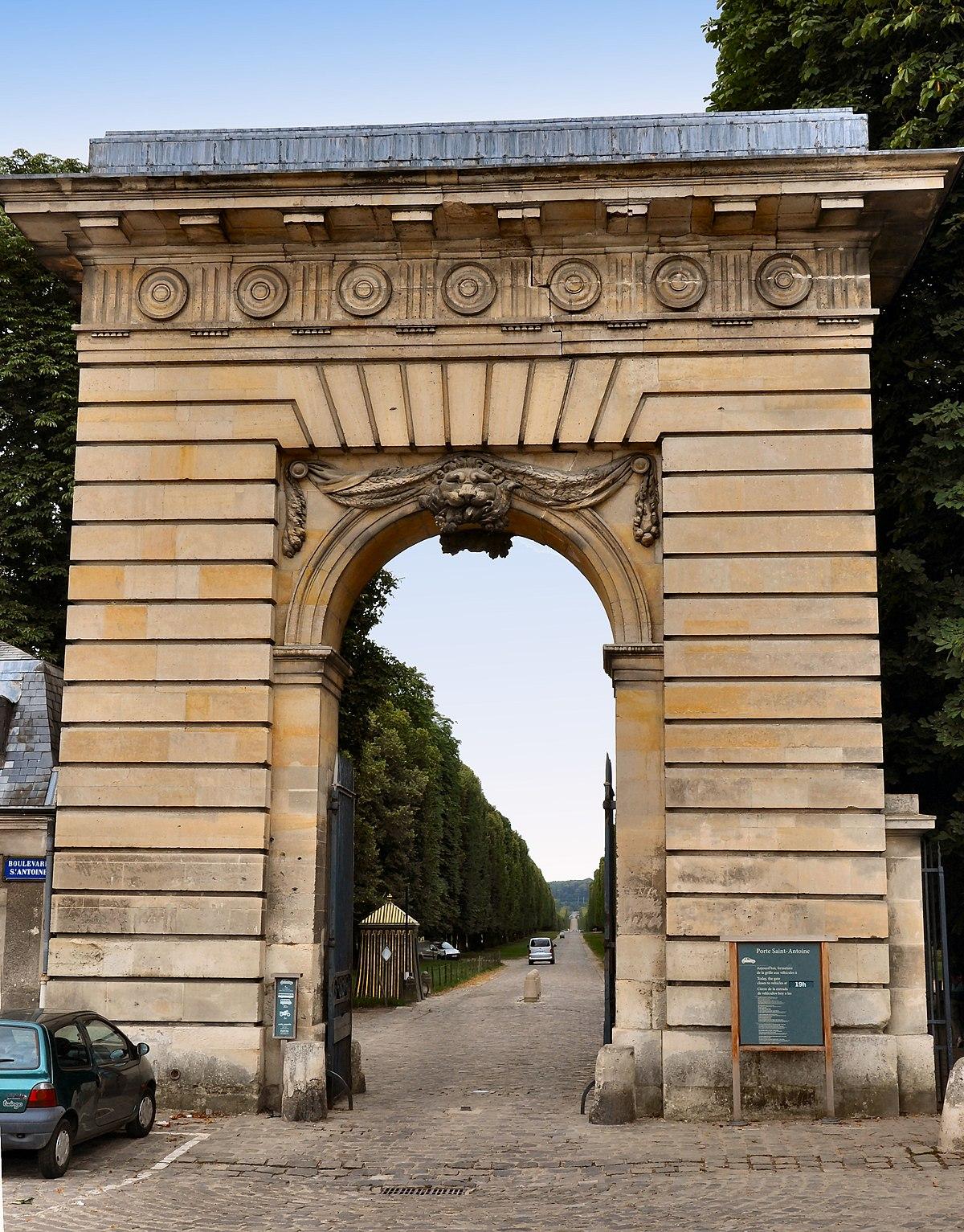 Q2838846 wikidata for Porte saint antoine