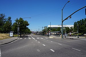 Oregon Route 99W - Oregon Route 99W as North Interstate Avenue in Portland