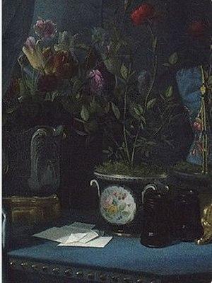 Portrait of Comtesse d'Haussonville - Detail