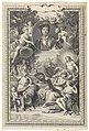Portret van Bernard de Fontenelle, met personificaties van de zeven vrije kunsten, RP-P-OB-51.083.jpg