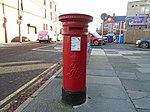 Post box on Crawford Avenue, Liverpool.jpg
