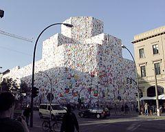 """""""Liebesbriefe"""" am Berliner Postfuhramt, 2001"""